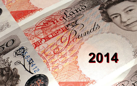 british pound forecast 2014