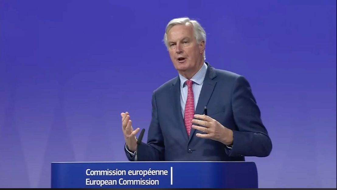 Michel Barnier Brexit negotiations