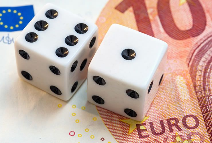 Betting the Euro exchange rate