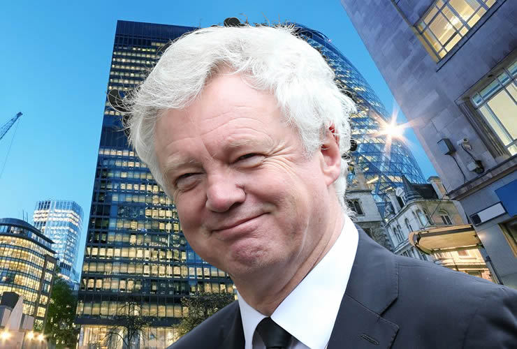 David Davis Great Repeal Bill impact on Pound Sterling exchange rates