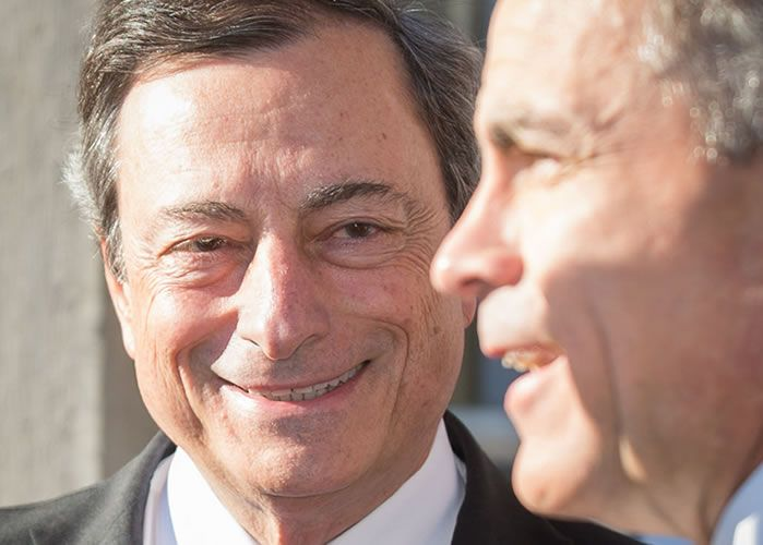 Draghi and Carney exchange rate impact