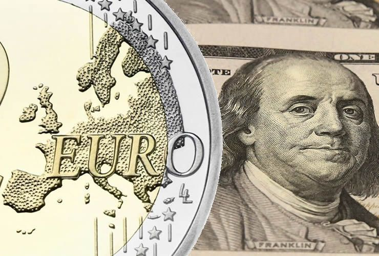Euro to Dollar exchange rate