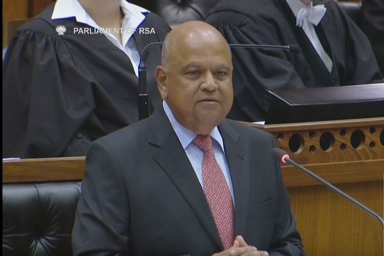Gordhan impact on the Rand