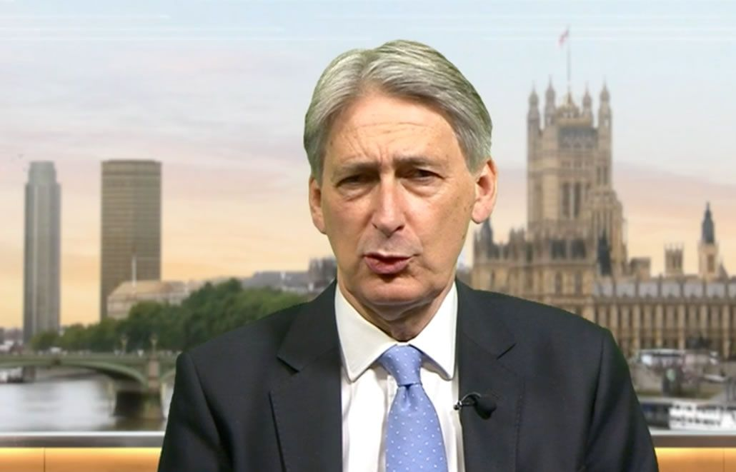 hammond interview pound to euro exchange rate