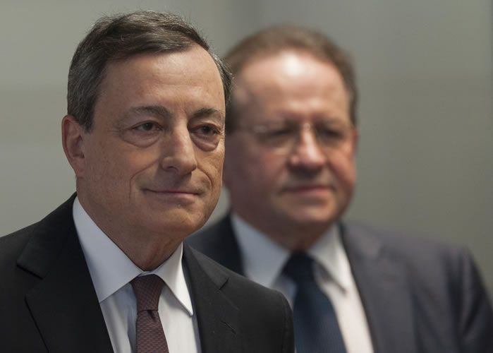 No ECB interest rate rise before end of bond-buying: Draghi