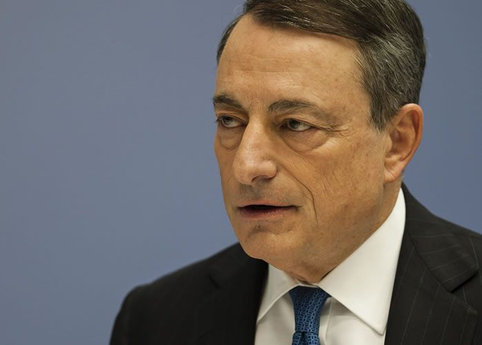 Draghi sees diminished growth risks even as inflation is lacking