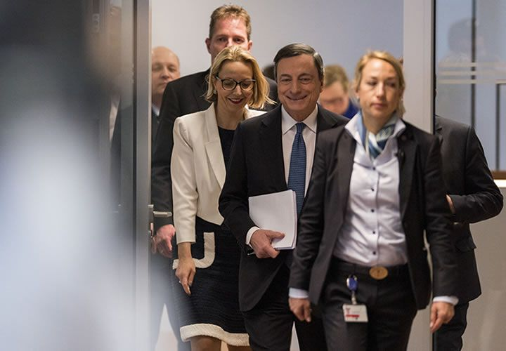 Nobody told the euro that Mario Draghi was dovish