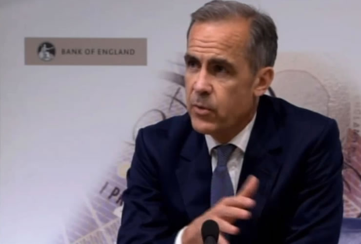 Mark Carney and the Pound