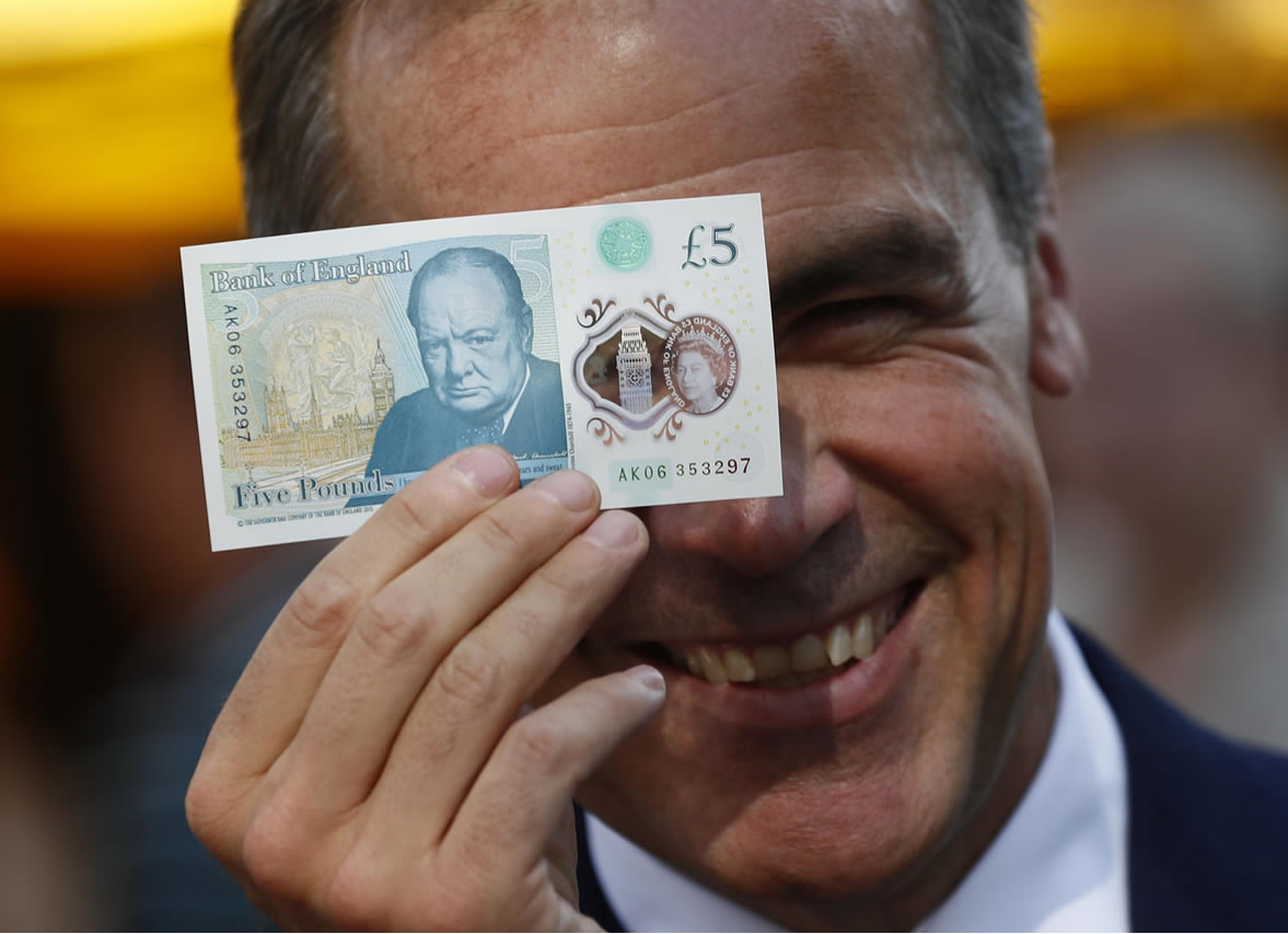 Carney Helps British Pound To 2016 Best Against Us Dollar