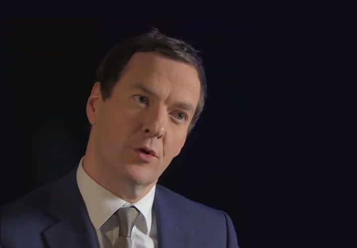 George Osborne and exchange rate moves