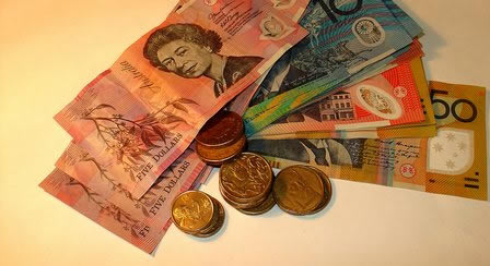 australian dollar exchange rates