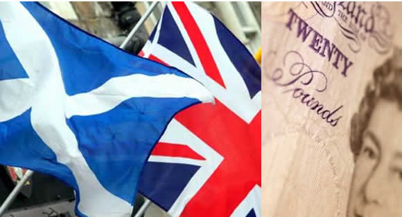 should an independent scotland use the british pound sterling