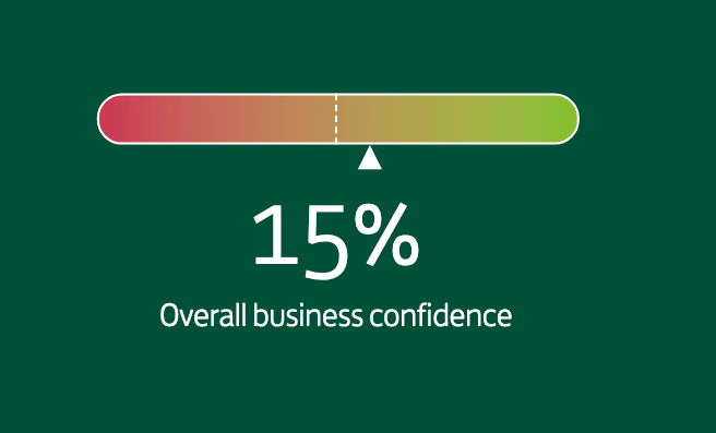 Business confidence rises