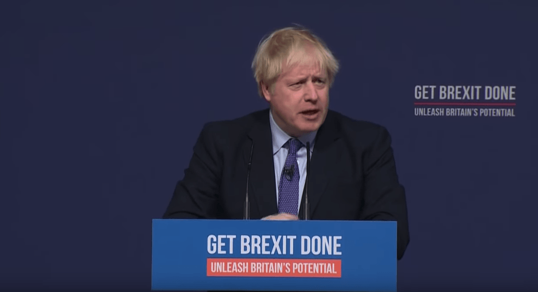 Johnson launches party manifesto