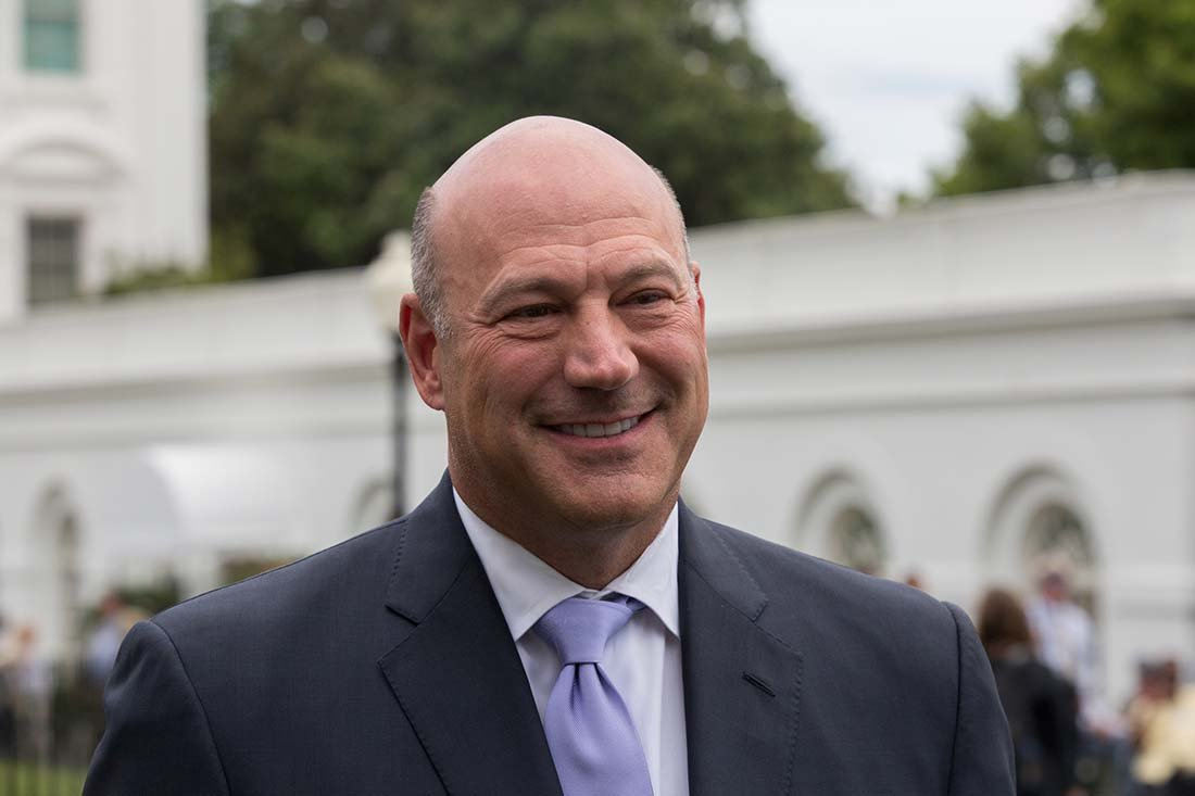 Trump says goodbye to 'globalist' economic adviser Gary Cohn