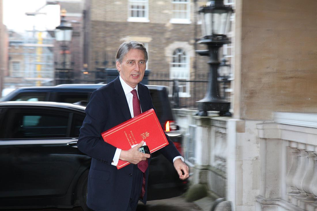 Hammond public sector finances
