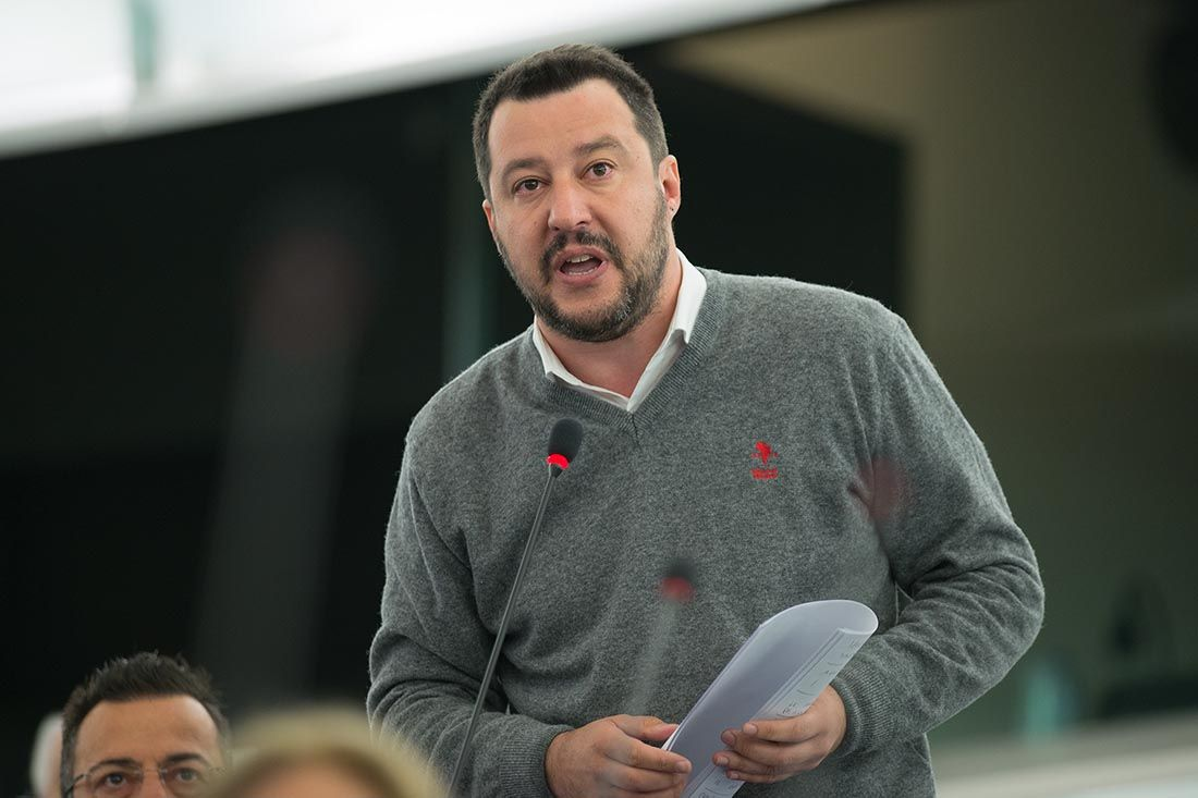 British Pound in Safe-Haven bid as Italy's Salvini says