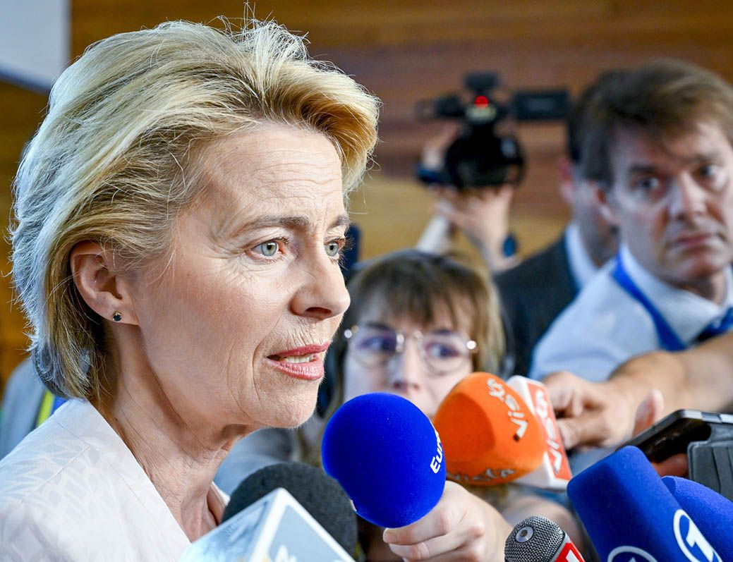 von der Leyen impact on Pound sterling exchange rates