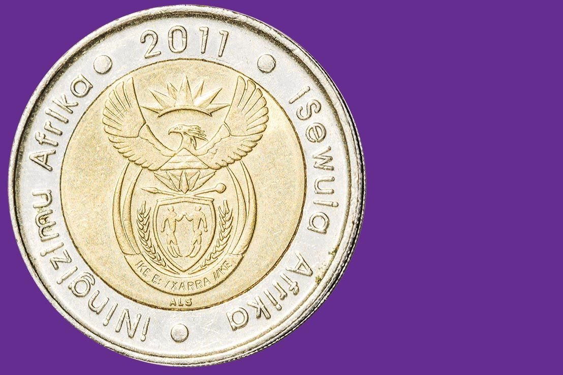 South African Rand breaks into uptrend