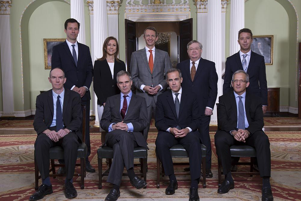 Bank of England MPC members
