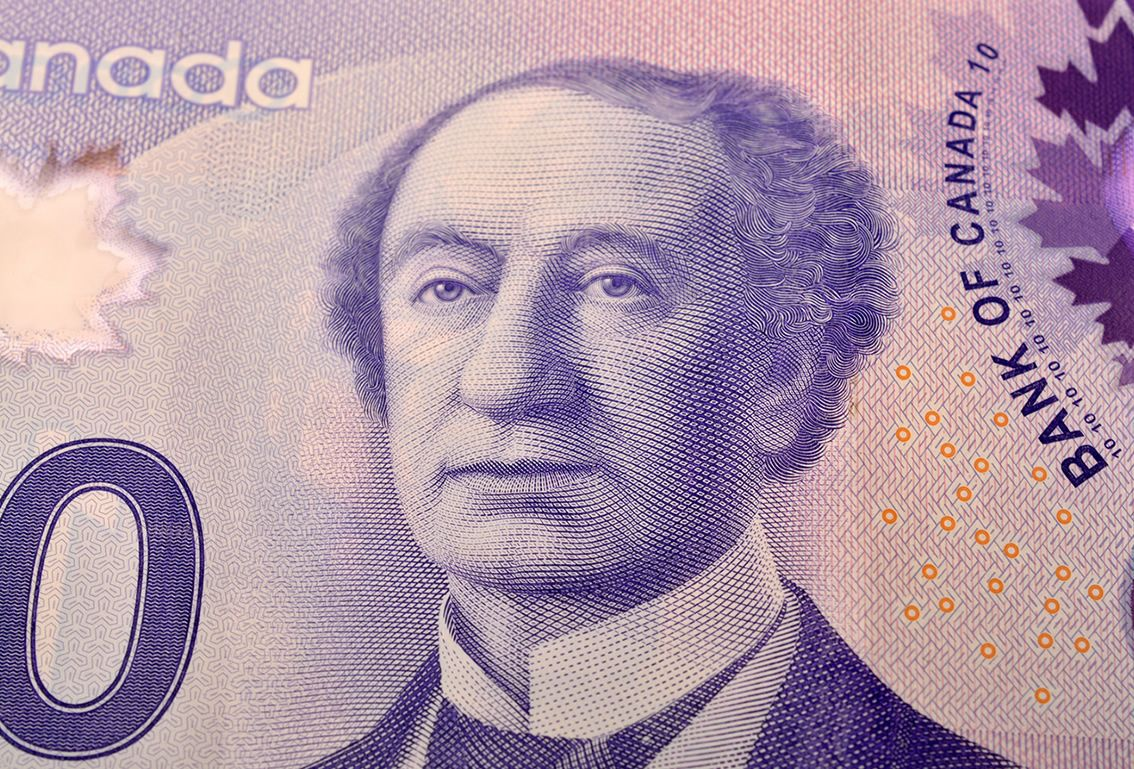 canadian dollar 1
