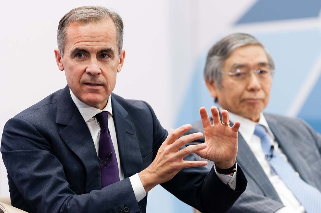 BoE's Carney dampens expectations for May rate hike, sees 'mixed' data
