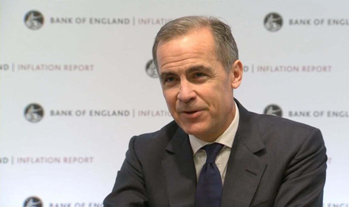 Carney at Bank of England