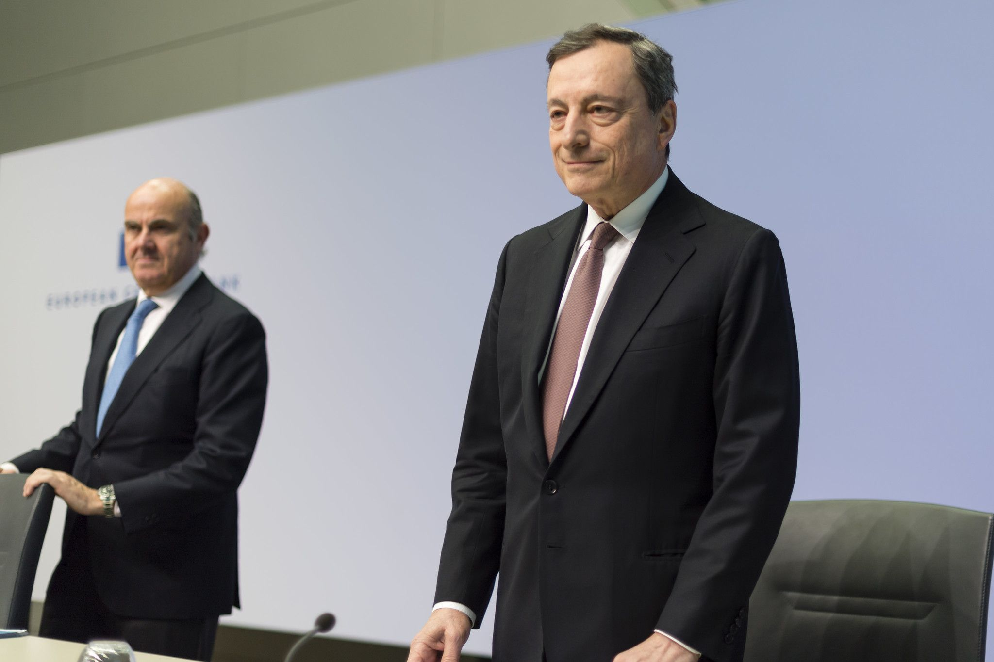 Draghi at ECB Press Conference