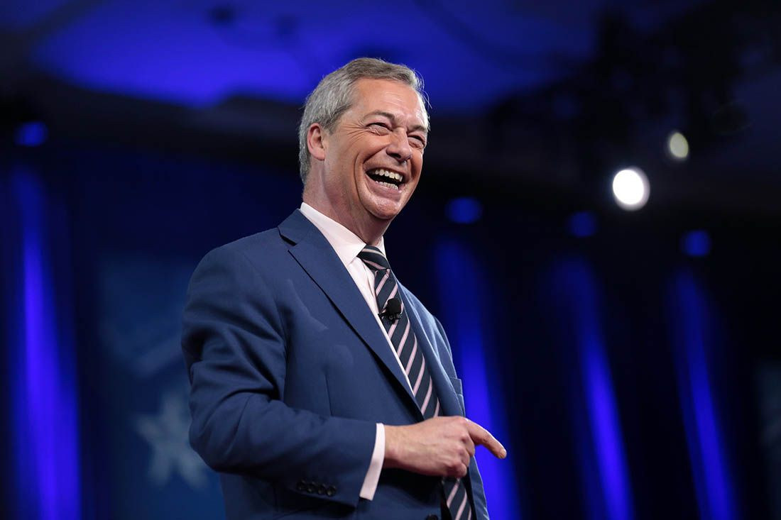 Brexit Party's Farage
