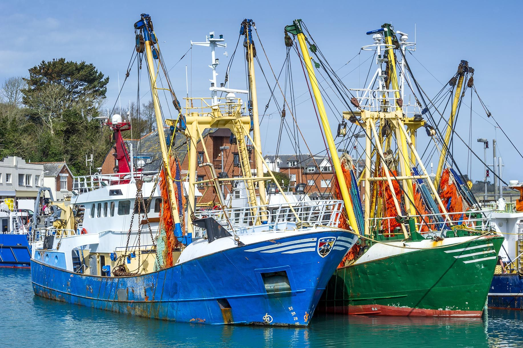 Fishing boats Brexit trade negotiations