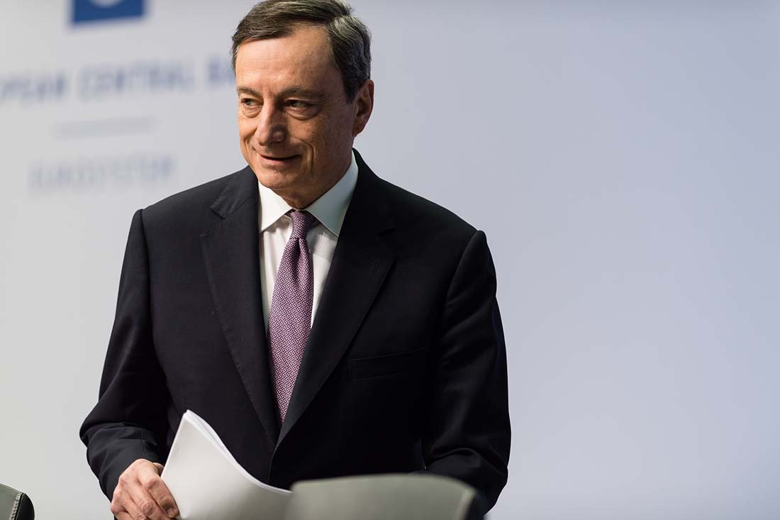 Mario Draghi key for the Euro today