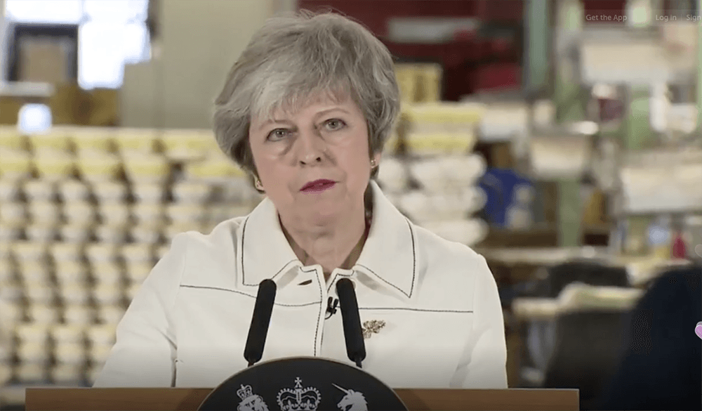 May speaking today