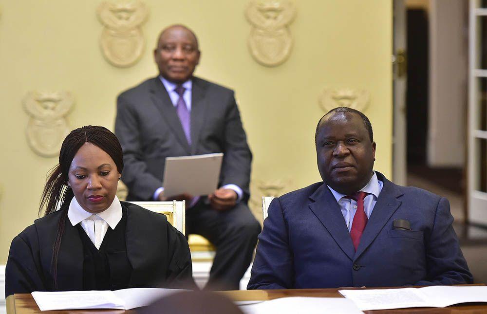 Mboweni In Focus