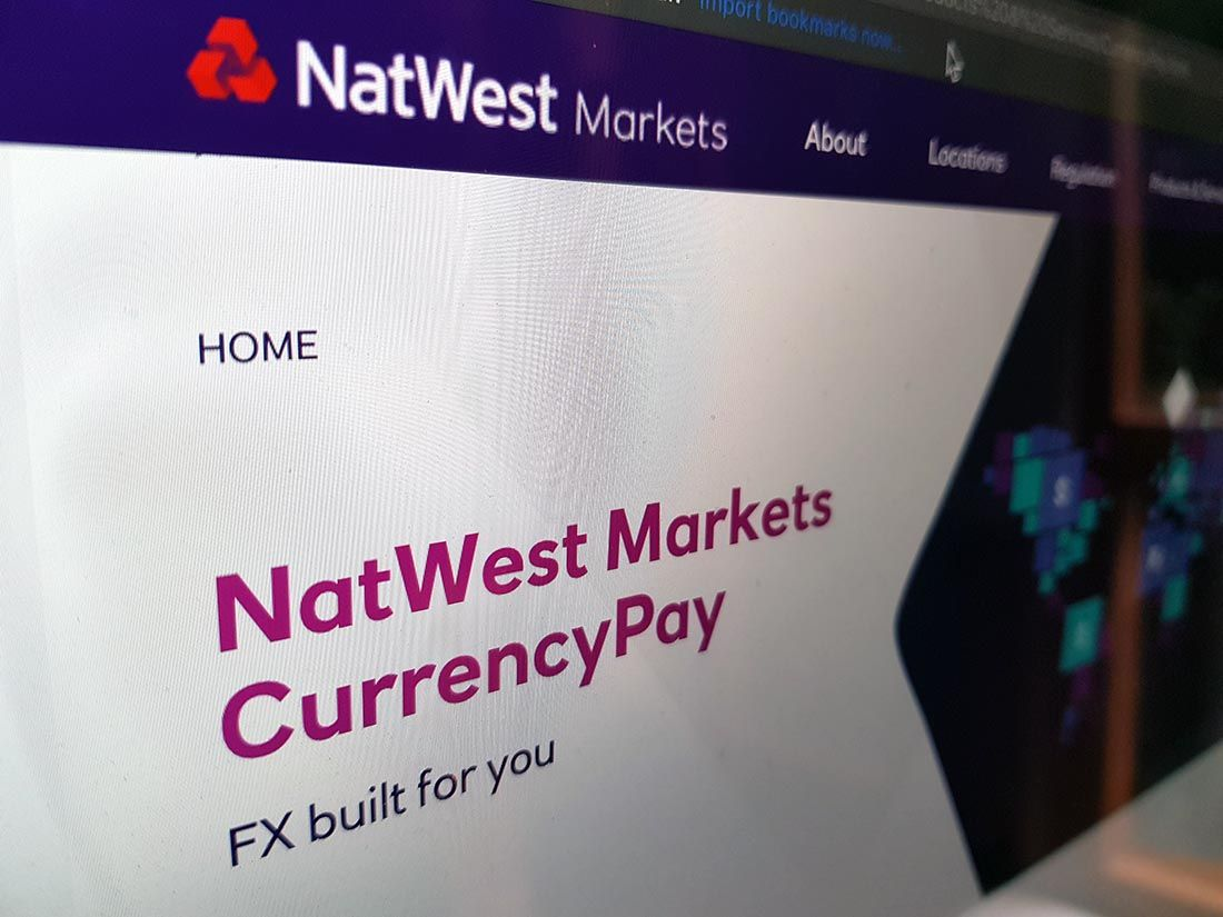 Natwest Markets exchange rate forecasts