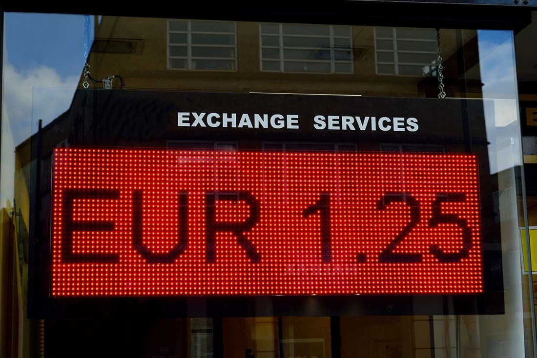GBP EUR exchange services