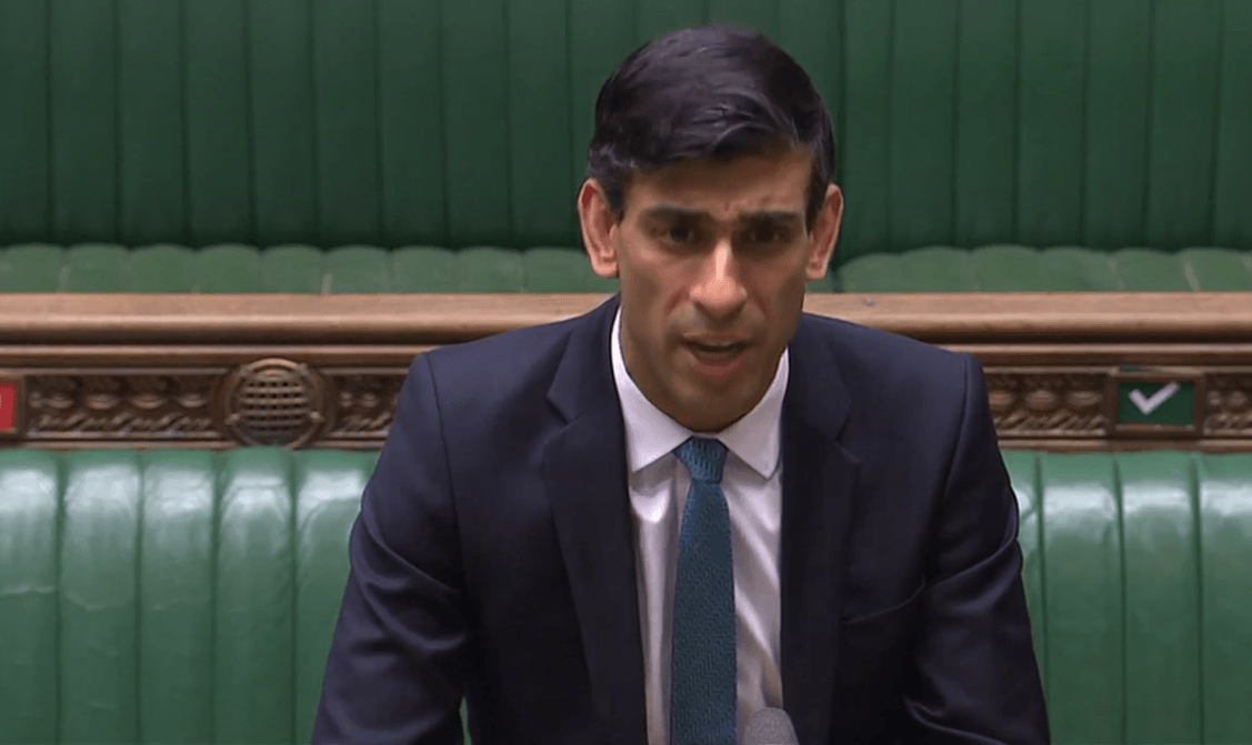 Chancellor unveils 100% state-backed loan scheme for UK's smallest businesses
