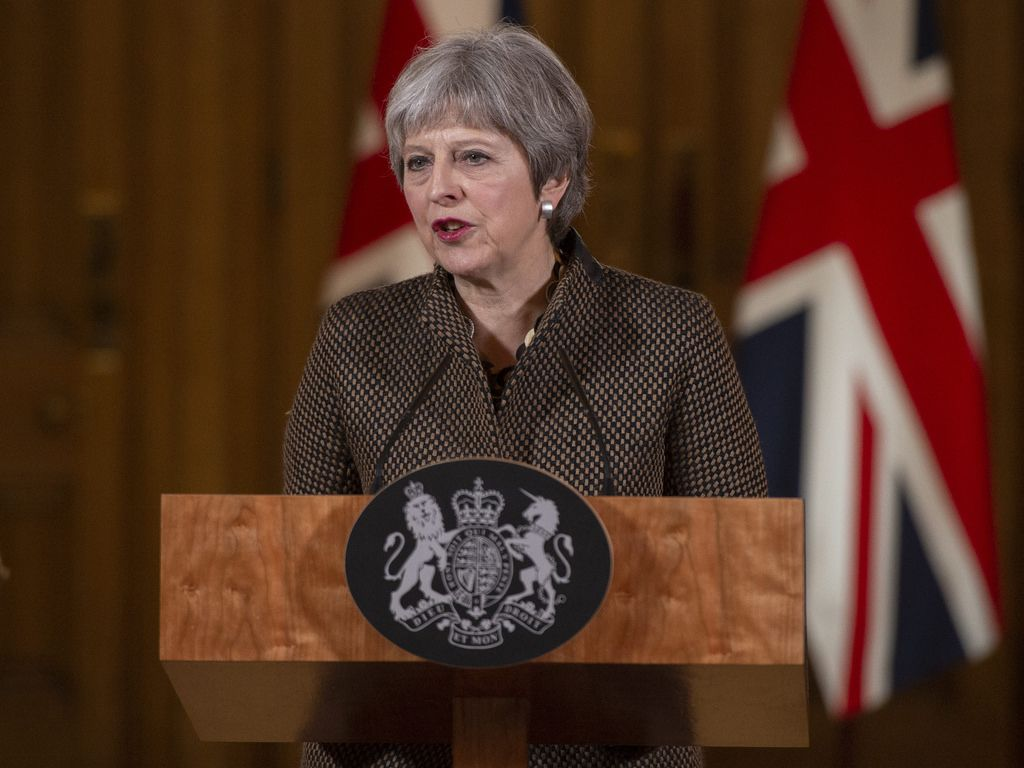 Theresa May Brexit risks