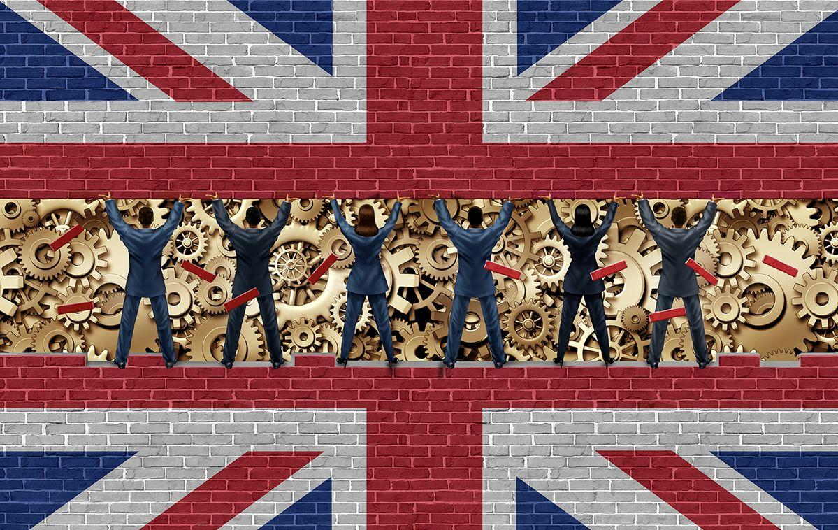 UK labor market data boost pounds sterling