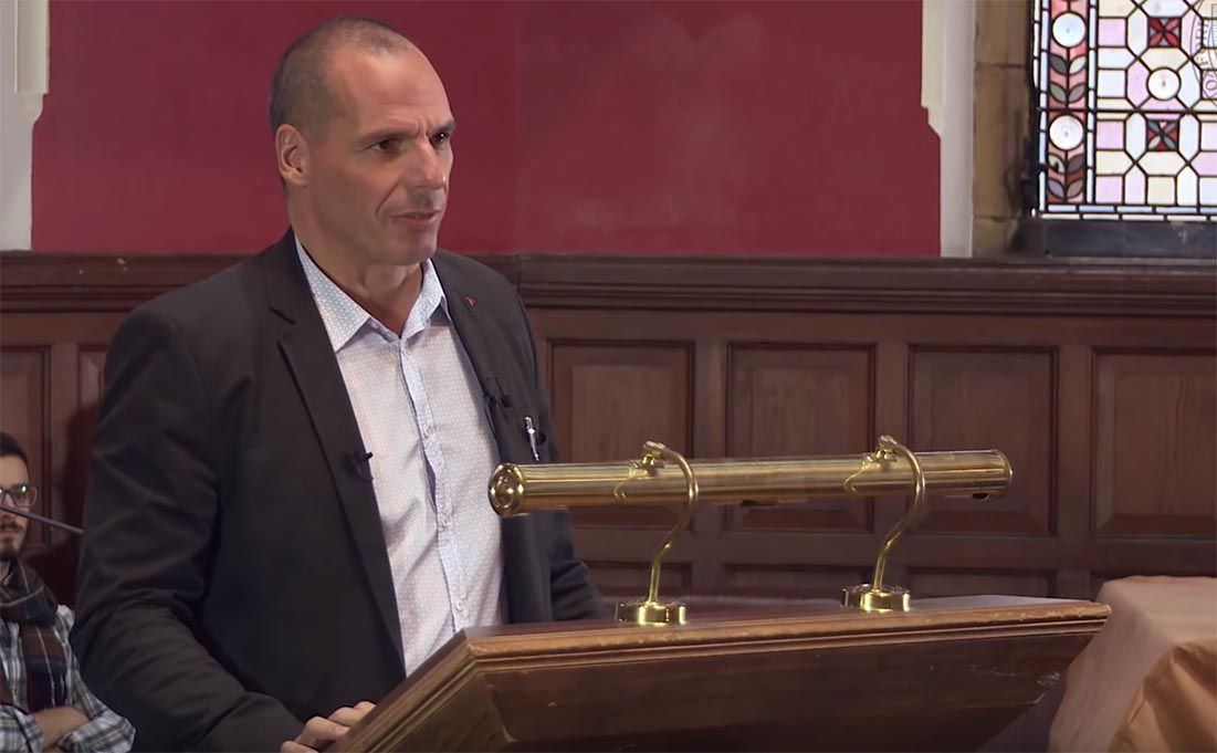 Varoufakis speech on the Euro